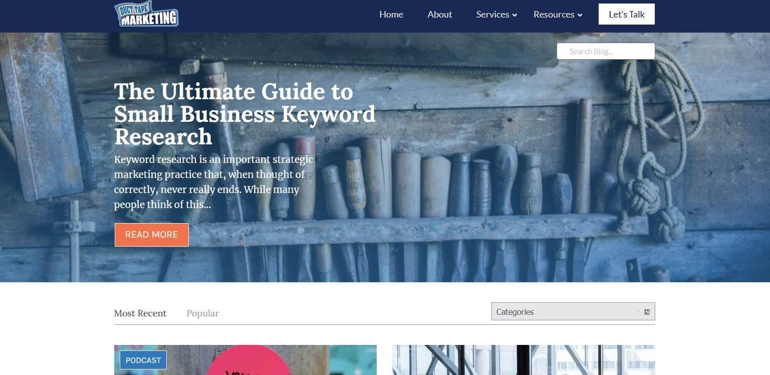 business blog, blog on business